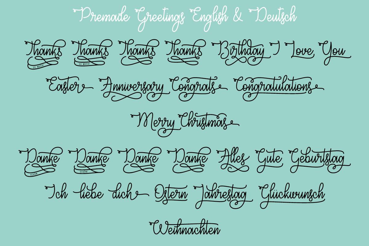 Congrats Script by Misti's Fonts