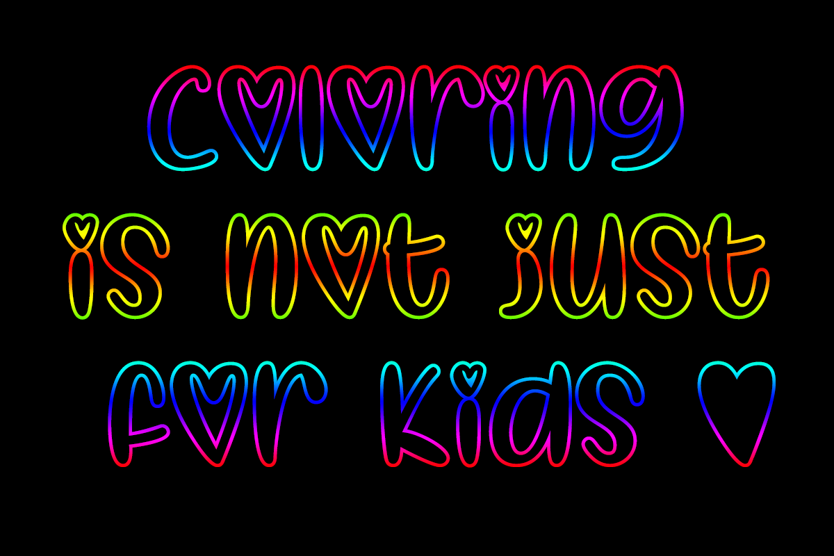 I Heart Colorings by Misti's Fonts.
