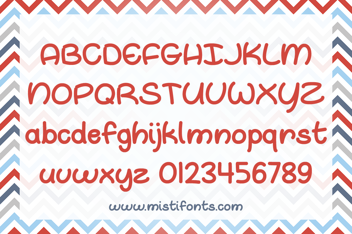 Oh Whale by Misti's Fonts