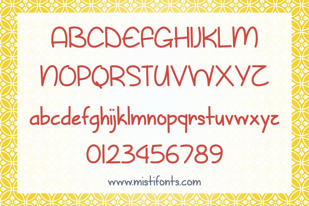 Sunny Spring Day by Misti's Fonts